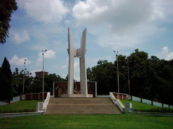 রাজশাহী বিশ্ববিদ্যালয়ের শহীদ মিনার